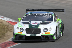 #7 Bentley Team M-Sport Bentley Continental GT3: Steven Kane, Guy Smith, Vincent Abril
