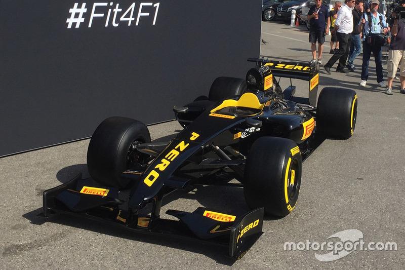 Pirelli F1 aracı