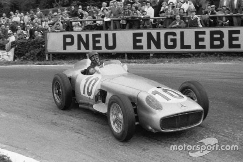 1955: Juara dunia, Juan Manuel Fangio, Mercedes-Benz W 196 R