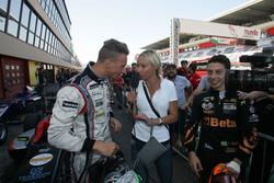 Diego Bertonelli, RB Racing e Giuliano Raucci, Diegi Motorsport con i media