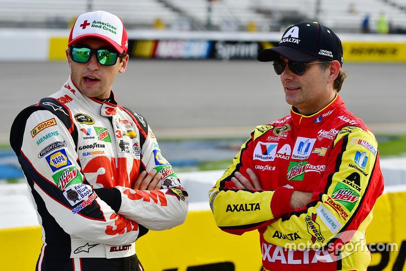 Chase Elliott, Hendrick Motorsports Chevrolet, Jeff Gordon, Hendrick Motorsports Chevrolet