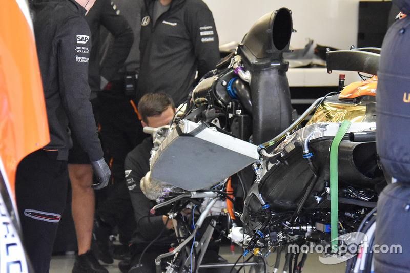 McLaren MCL32, dettaglio posteriore