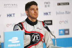 Edoardo Mortara, Venturi Formula E, in the press conference