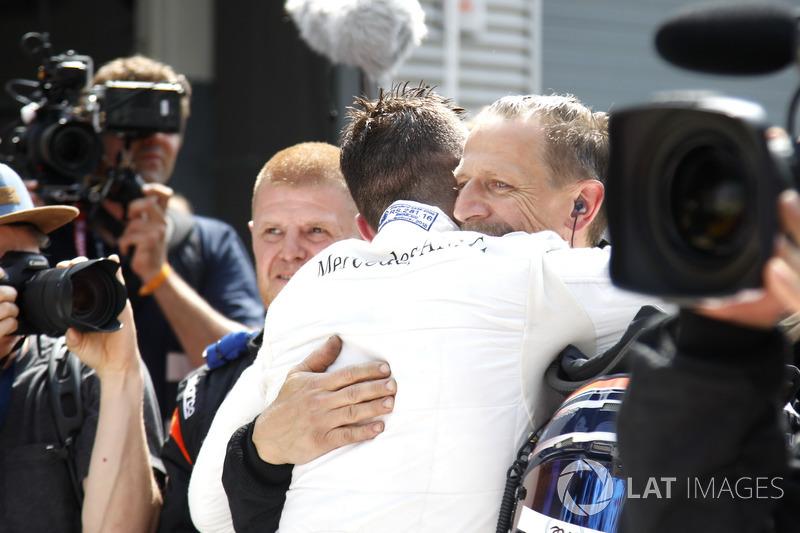 Il vincitore della gara Edoardo Mortara, Mercedes-AMG Team HWA