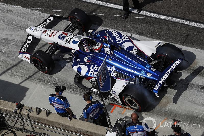 30°: Graham Rahal, Rahal Letterman Lanigan Racing Honda