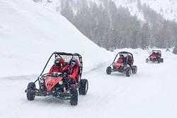 Karda eğlence