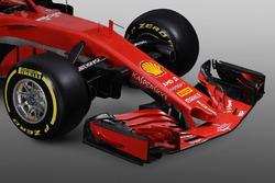 Ferrari SF71H voorkant detail