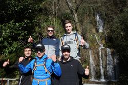 Joel Eriksson, Bruno Spengler, Augusto Farfus, Marco Wittmann, Philipp Eng and Joel Eriksson, Hiking