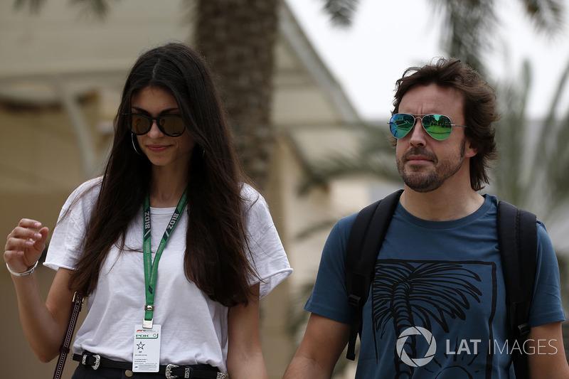 Fernando Alonso, McLaren, Linda Morselli