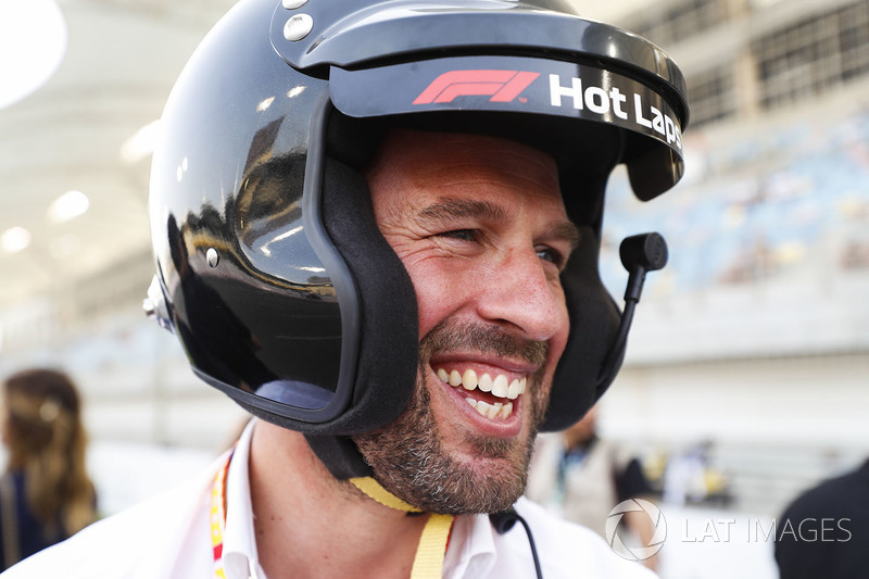 Smiles aplenty after an F1 Pirelli Hot Laps experience