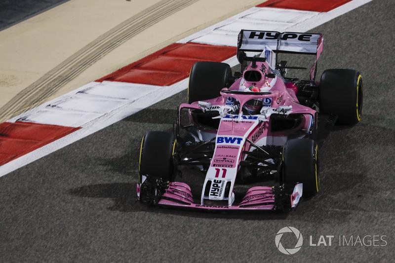 12. Серхіо Перес, Force India VJM11 Mercedes