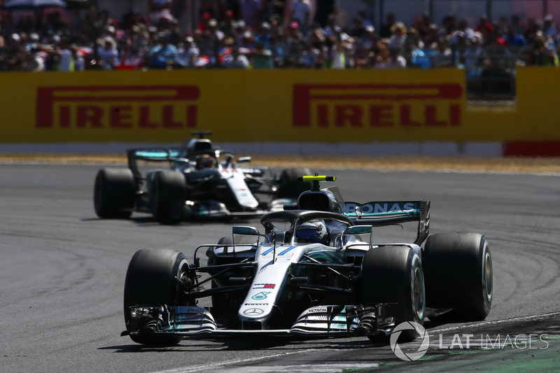 Valtteri Bottas y Leewis Hamilton, Mercedes AMG F1 W09