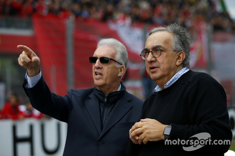 Piero Lardi Ferrari, Wakil Presiden Ferrari, Sergio Marchionne, CEO FIAT