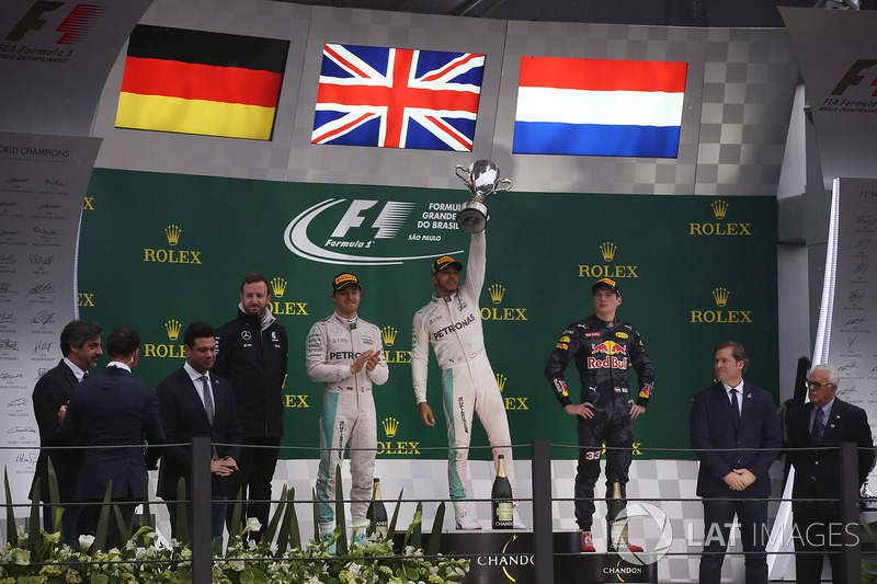 A pesar de sus altas cifras, Hamilton tiene solo una victoria en el GP de Brasil, con Mercedes en 2016.
