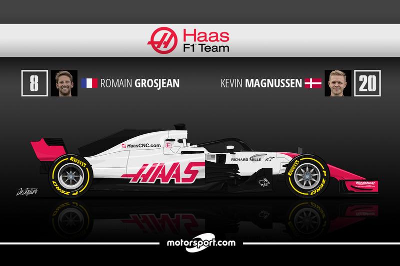 Romain Grosjean 11 Kevin Magnussen 9
