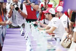 Lucas di Grassi, Audi Sport ABT Schaeffler, at the autograph session