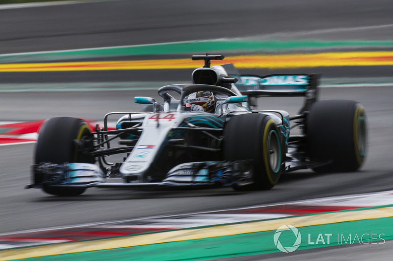 2018: Lewis Hamilton, Mercedes F1 W09 EQ Power