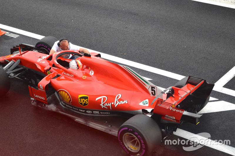 2. Себастьян Феттель, Ferrari SF71H — 131