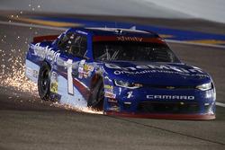 Elliott Sadler, JR Motorsports Chevrolet, nach Crash