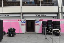 Garaje de Force India F1