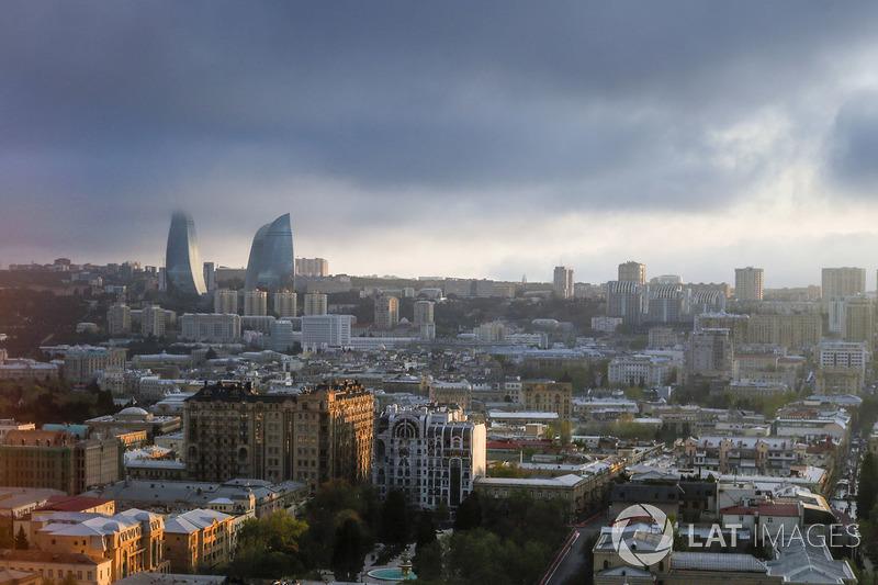 Suasana kota Baku