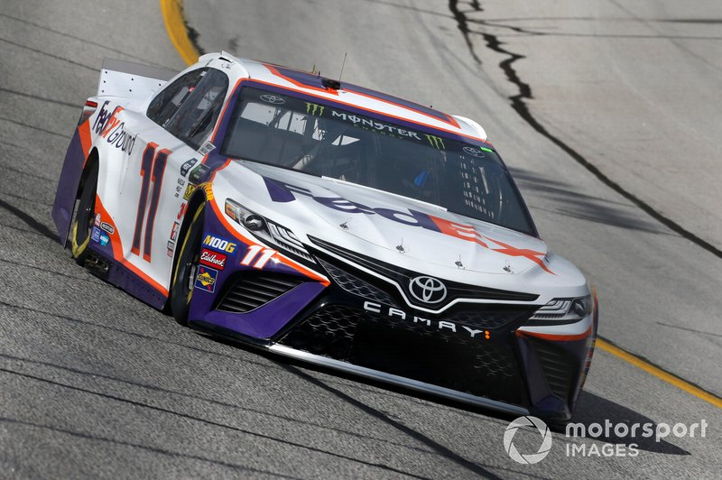 4. Denny Hamlin, Joe Gibbs Racing, Toyota Camry FedEx Ground
