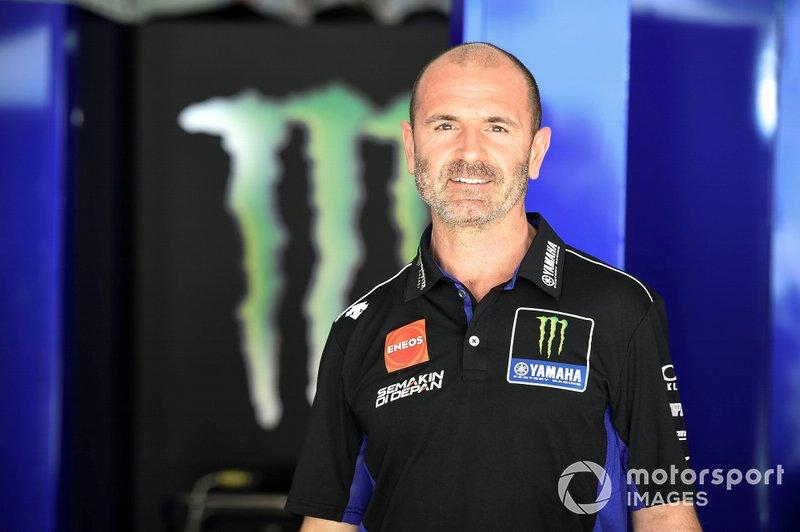 Massimo Meregalli, manager de Yamaha Factory Racing