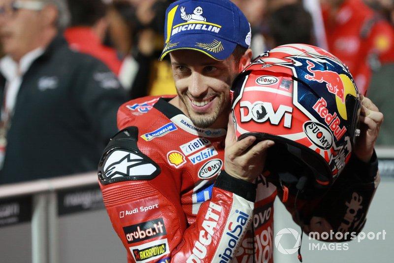 Il vincitore Andrea Dovizioso, Ducati Team