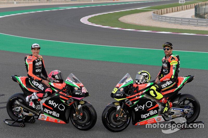 Aleix Espargaró, Andrea Iannone, Aprilia Racing Team Gresini