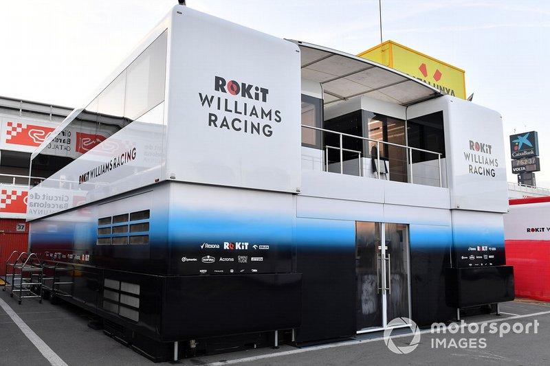 De vrachtwagens van Williams Racing
