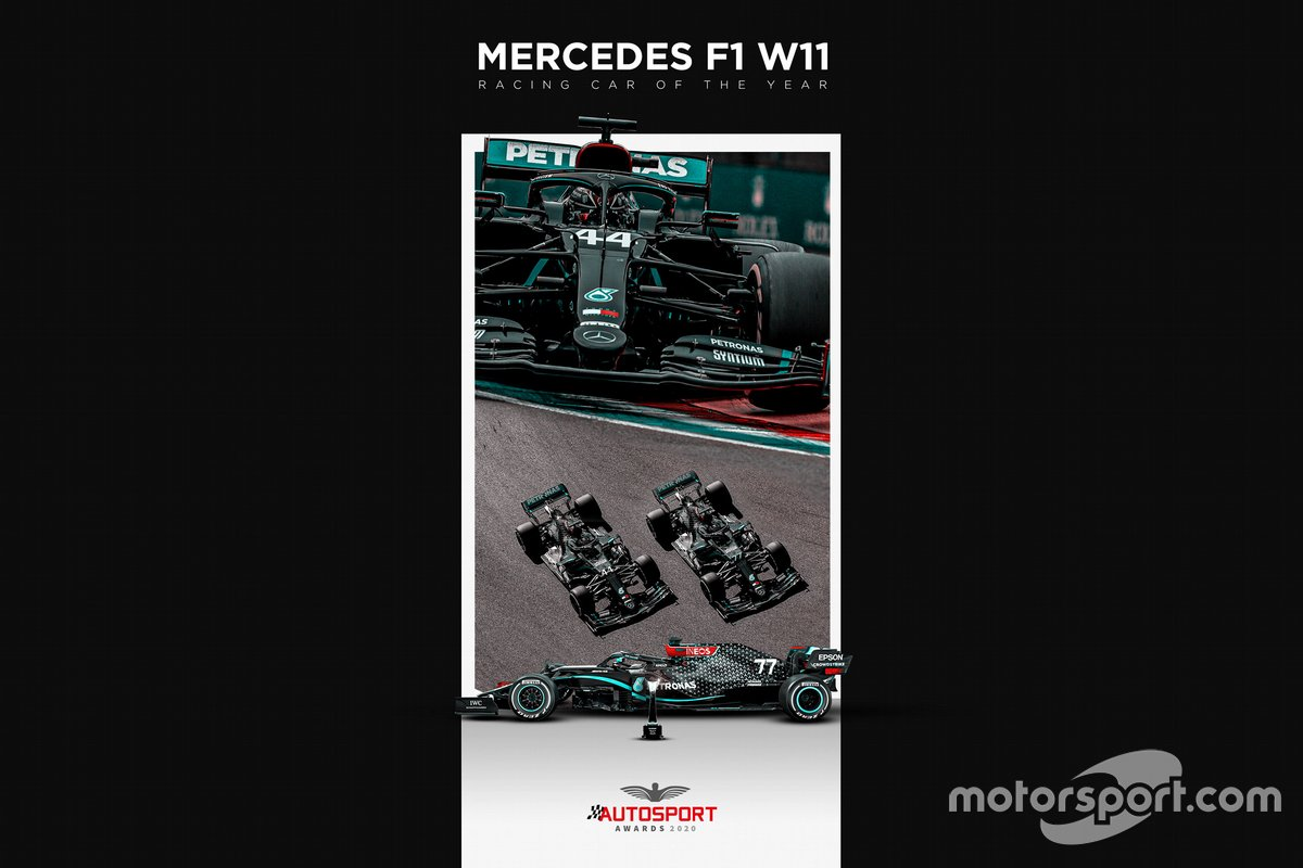 Mercedes F1 W11 Autosport Awards