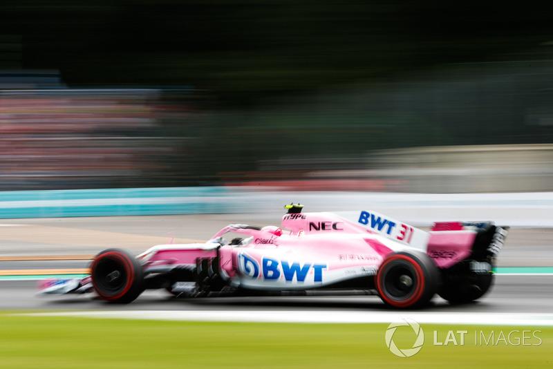 10 місце — Естебан Окон (Франція, Force India) — коефіцієнт 501,00