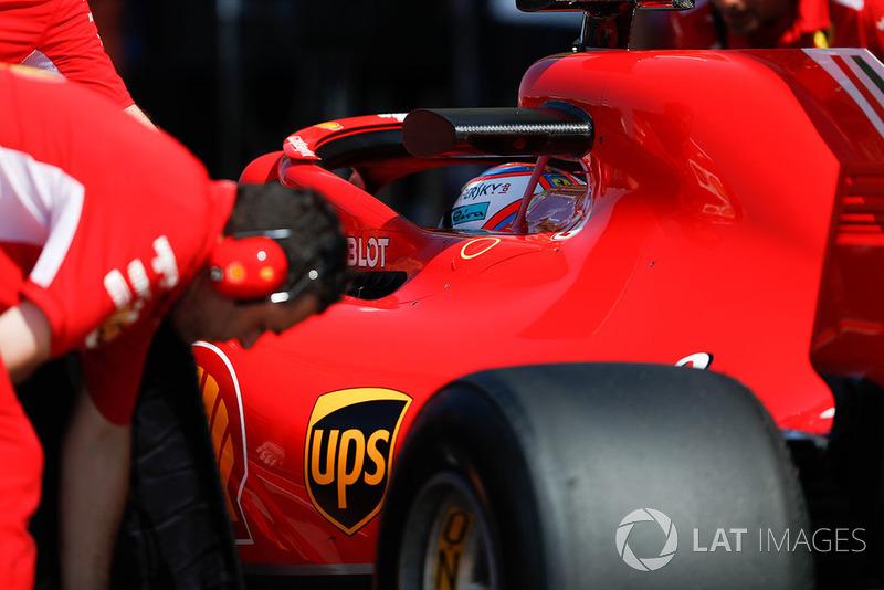 3 місце — Кімі Райкконен, Ferrari