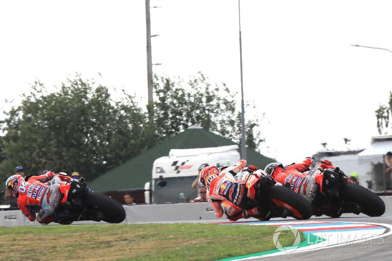 Андреа Довіціозо, Ducati Team, Марк Маркес, Repsol Honda Team, Хорхе Лоренсо, Ducati Team
