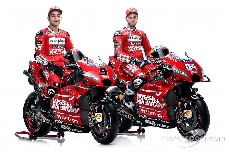 Danilo Petrucci, Ducati Team; Andrea Dovizioso, Ducati Team