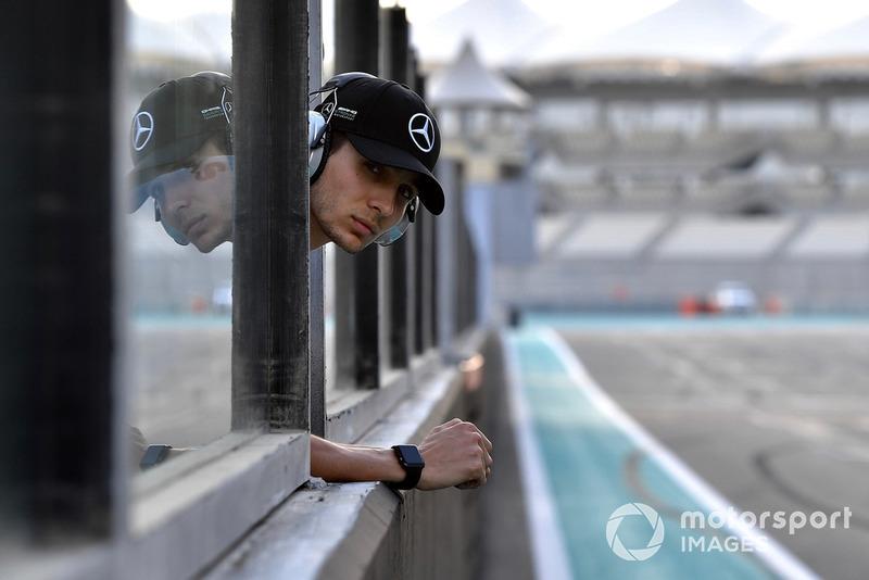 Esteban Ocon, piloto de prueba y reserva Mercedes-AMG F1