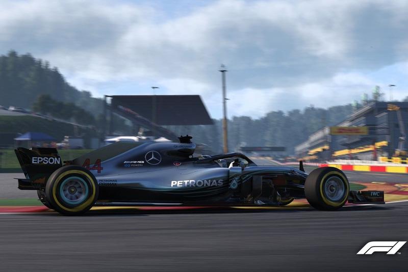 Брендон Лі, Mercedes F1 AMG W09, Ф1 2018