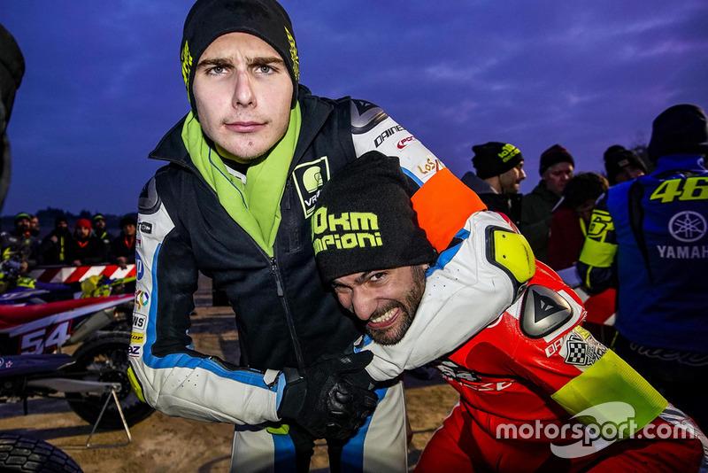 Lorenzo Baldassarri and Dennis Foggia