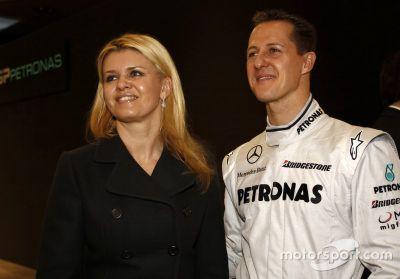 Mercedes GP team, presentación, Stuttgart