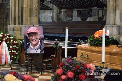 Trauerfeier: Niki Lauda