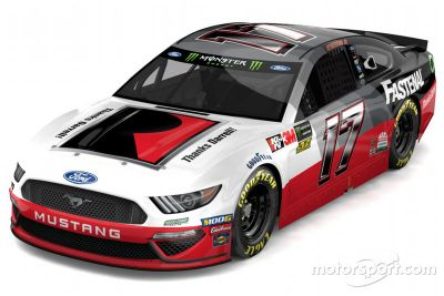 Roush Fenway Racing livery unveil
