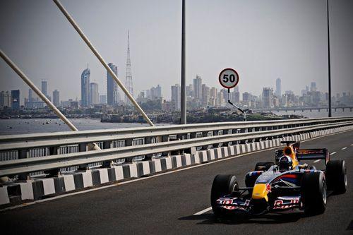 Show de Red Bull en Bombay