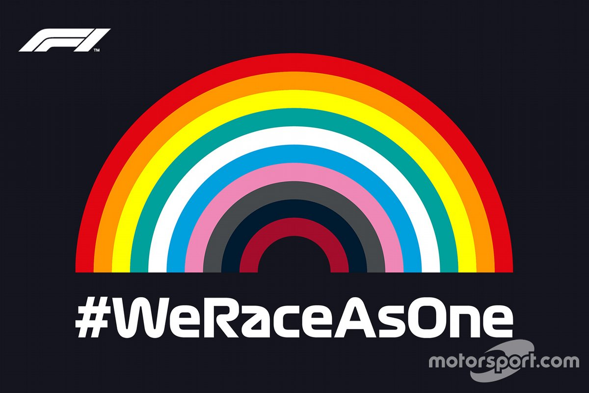 #WeRaceAsOne initiative