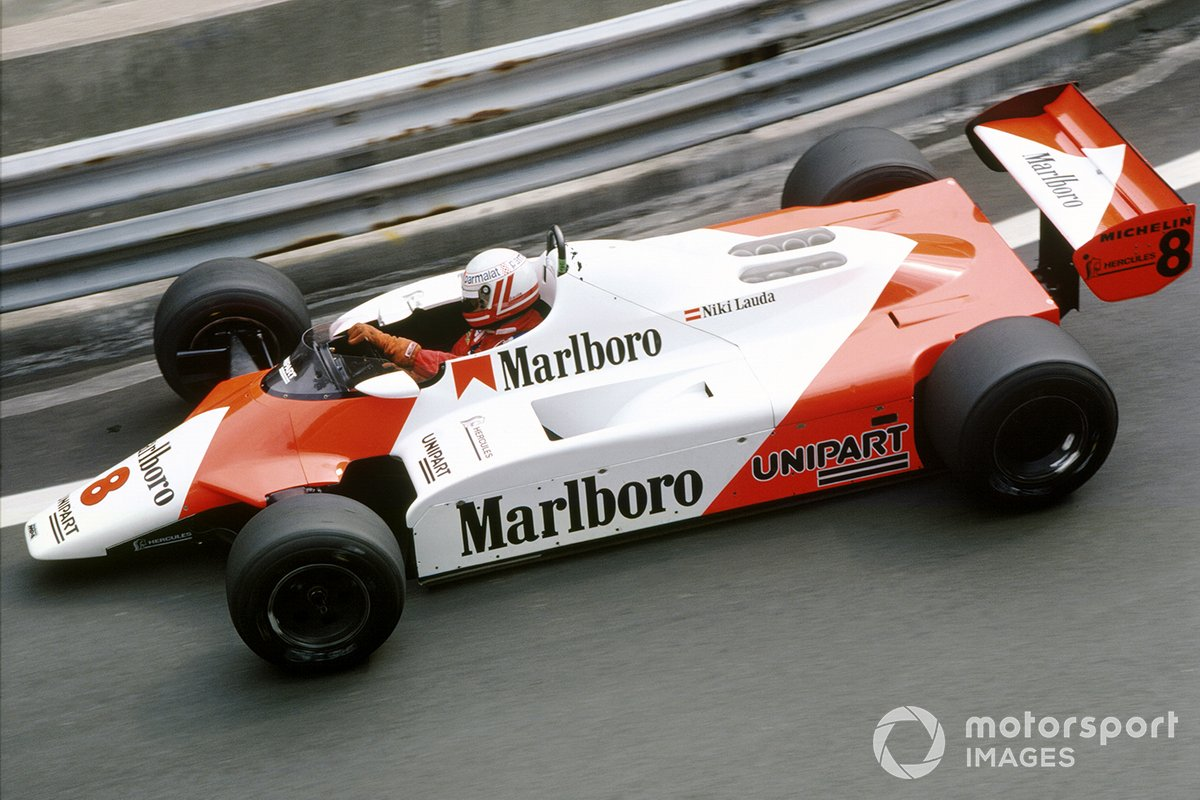 Niki Lauda, McLaren MP4/1B-Ford
