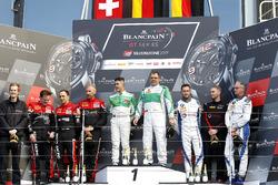 Podium AM: Winner #488 Rinaldi Racing,  Ferrari 488 GT3: Pierre Ehret, Rino Mastronardi, second place #888 Kessel Racing, Ferrari 488 GT3: Jacques Duyvier, Marco Zanuttini, David Perell, third place #36 Walkenhorst Motorsport, BMW M6 GT3: Henry Walkenhorst, Matias Henkola, David Schiwietz