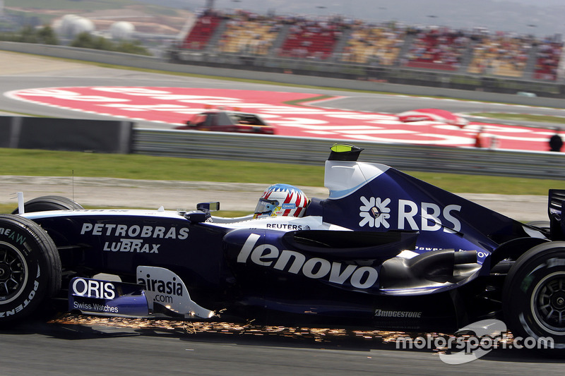 Формула 1. Гран При Испании, Александр Вурц, 2007 год