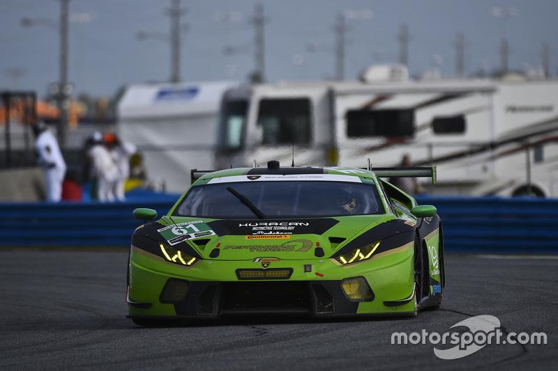 #61 GRT Grasser Racing Team Lamborghini Huracan GT3: Christian Engelhart, Rolf Ineichen, Roberto Pam