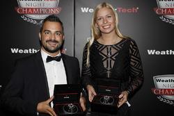 Alessandro Balzan en Christina Nielsen met Tudor Watches