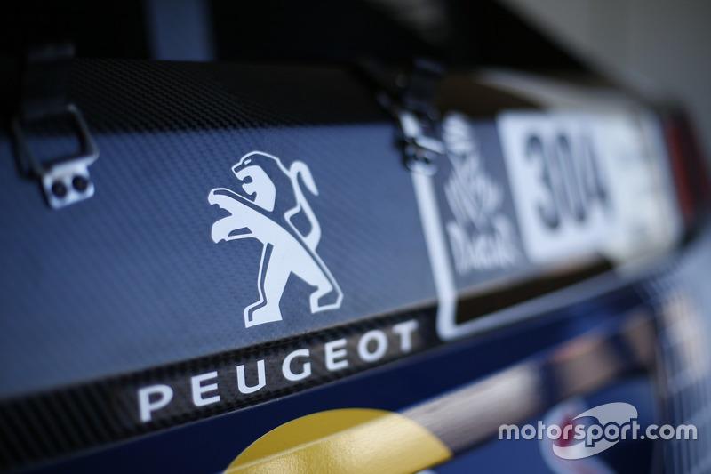 Фрагмент Peugeot 3008 DKR