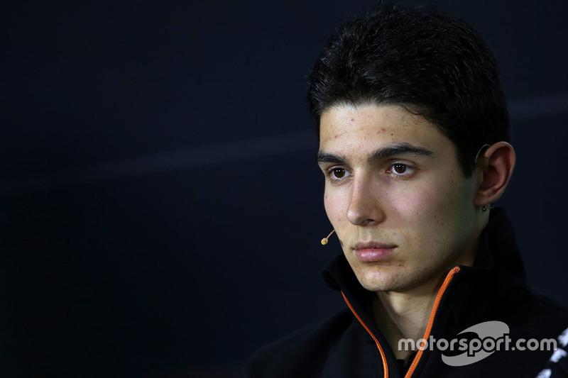 Pressekonferenz: Esteban Ocon, Sahara Force India F1 Team